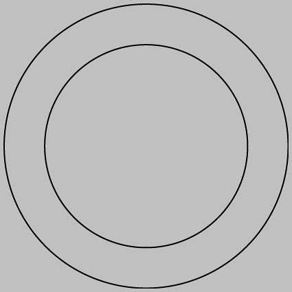 1 inch circle template free - basic one inch button template this is the template for