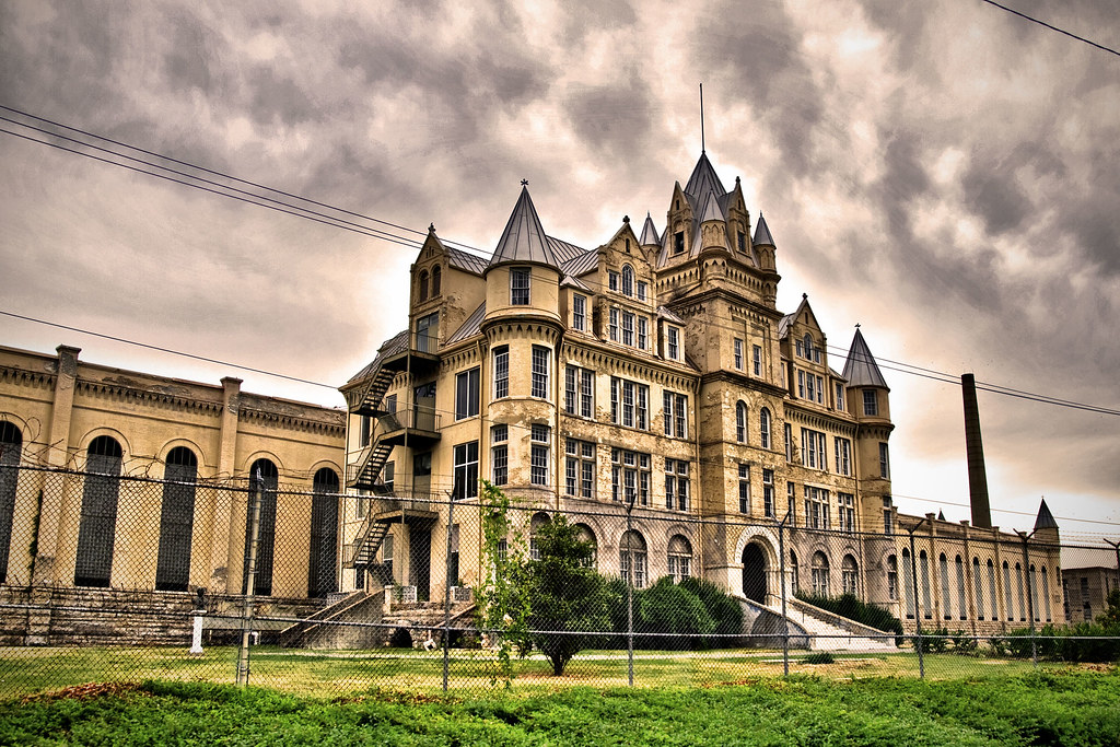 Tennessee State Prison Taken The Abandoned Tennessee