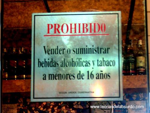 Prohibido Vender Bebidas Alcoholicas Y Tabaco A Menores De
