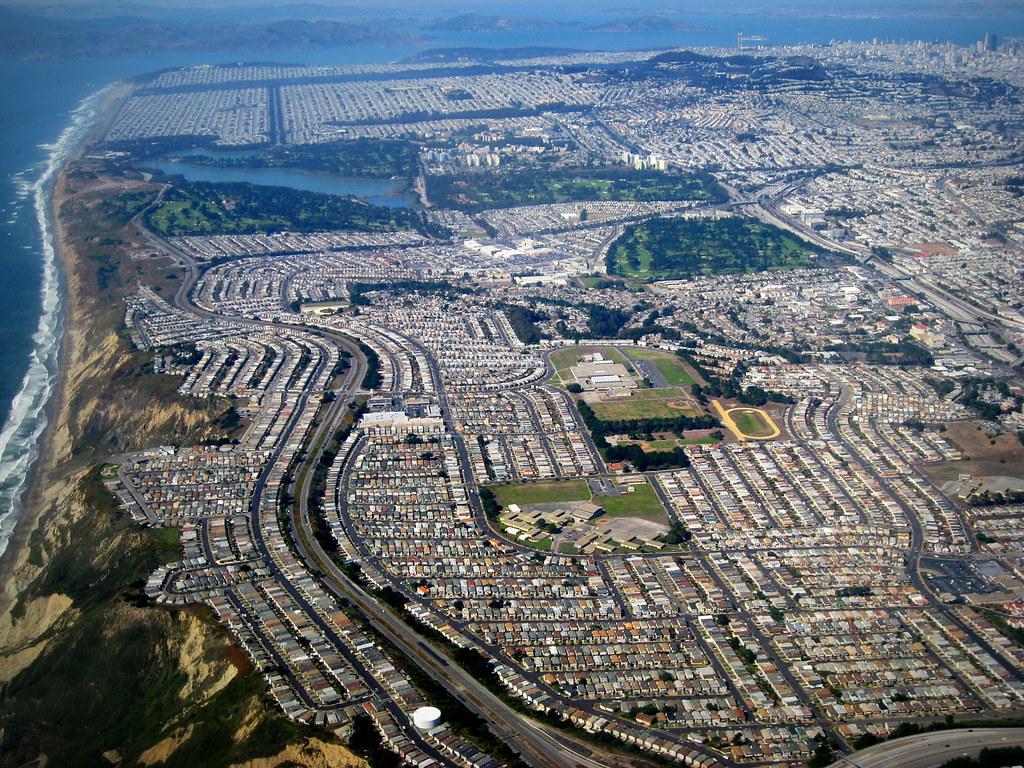 San Francisco Daly City Aerial サンフランシスコ Explore
