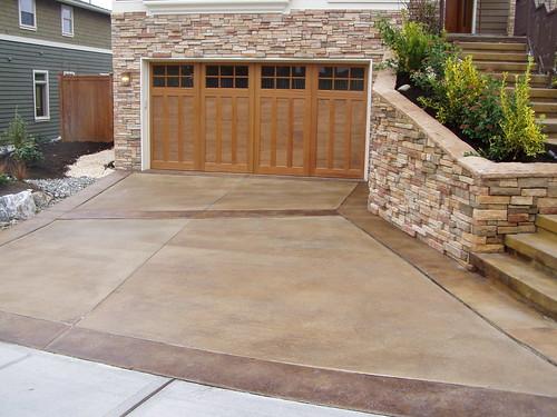 Concrete Driveway Stain Colors