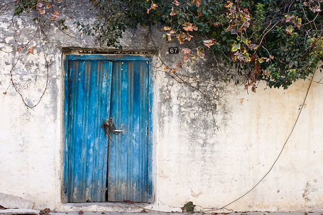 Blue door | by macropoulos Blue door | by macropoulos & Blue door | Best viewed Large On Black. | Stavros Markopoulos | Flickr