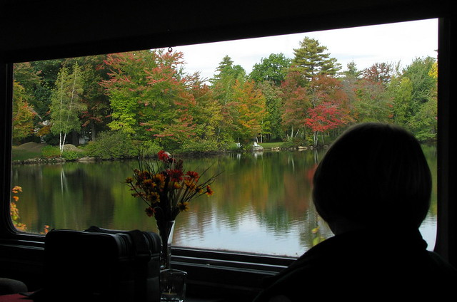 Fall Foliage Train Tours From New York