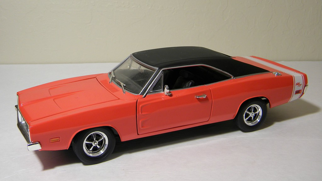1969 Dodge Charger Rt Matel Hot Wheels 1 18th Scale Diec Flickr