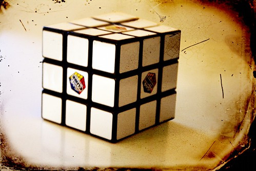 White Rubik's Cube | by @Doug88888