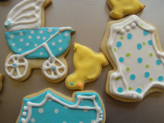 baby shower sugar cookies flickr photo sharing