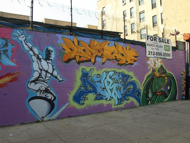 Mott Haven Graffiti Mural, South Bronx NYC | Flickr ...
