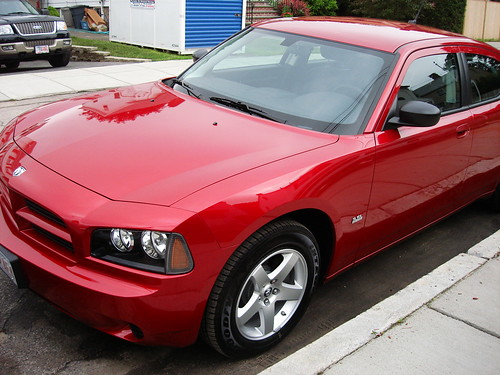 Salsa Red Car Paint Color