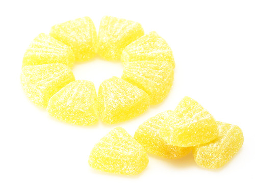Sour Pineapple Gummi | by cybele-