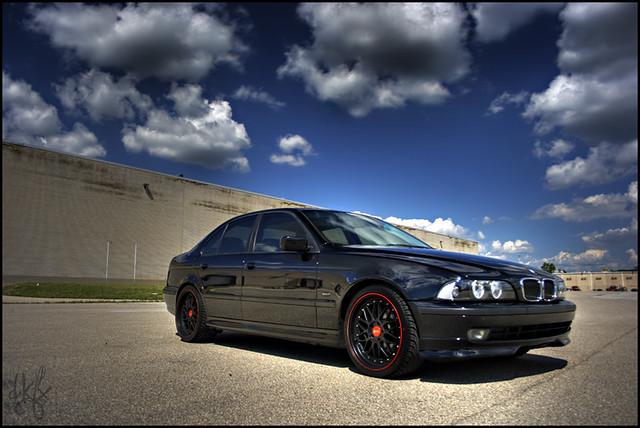 Black E39 540i Time Attack 19s Dan Kinzie Flickr