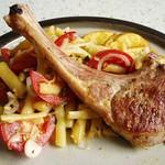 Lamm, gegrillt mit Kräuter-Wachsbohnensalat