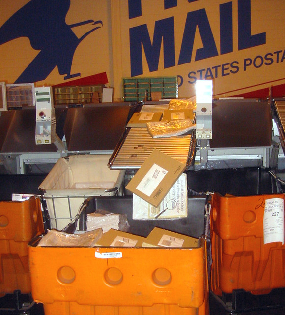 parcel sorting machine