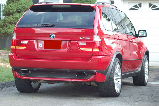 2004 BMW X5 4.8is 1 | The back with the original exhaust | steven ...
