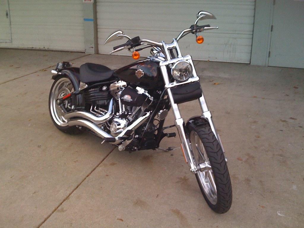 Harley Davidson Rocker C >> Modified '08 Harley-Davidson FXCWC Rocker C | 240 rear tire,… | Flickr