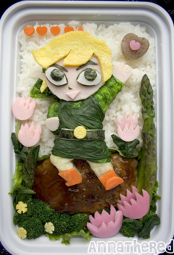 Toon Link Bento! | by kickintheheadcomic