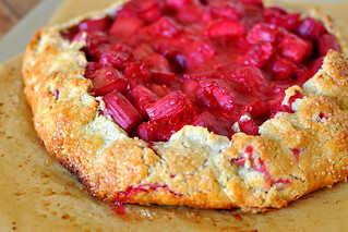 Rhubarb and Raspberry Crostata | by Cathy Chaplin | GastronomyBlog.com