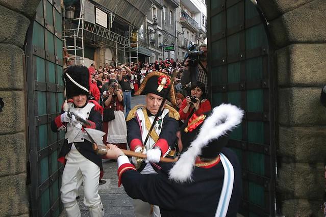 Fiesta de la Reconquista de Vigo (Galicia, España)