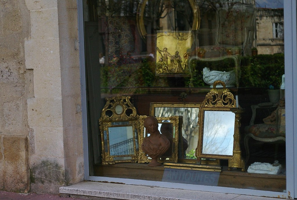 Antiquaire si ces miroirs avaient la m moire for Miroir 3 pans