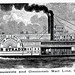 "Louisville and Cincinnati mail packet steamer ""Jacob Strader"""