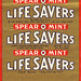Lifesavers - SpearOMint - Early 1960s