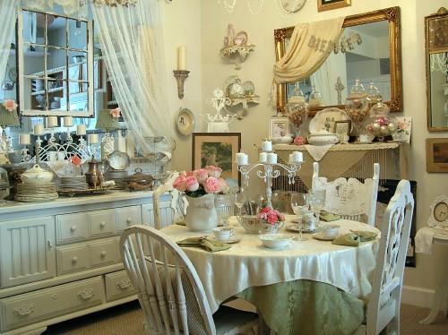 Dining room 1 my vintage pad home tour alice wingerden - Dormitorio estilo vintage ...