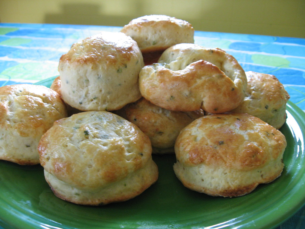 Sour Cream & Chive Biscuits | We had 12 of these, and they ...
