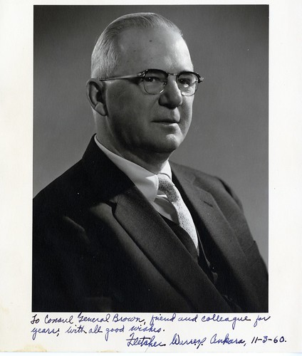 Fletcher Warren | by Wofford Archives