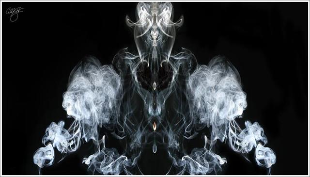 Smoke Demon One Of The Last Smoke Art Images To Round