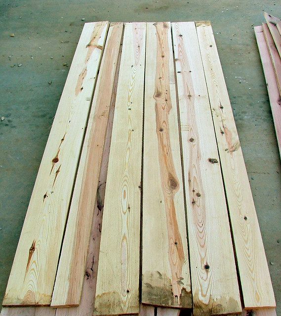 Vintage Knotty Pine Paneling: KNOTTY Pine For Fence Pickets