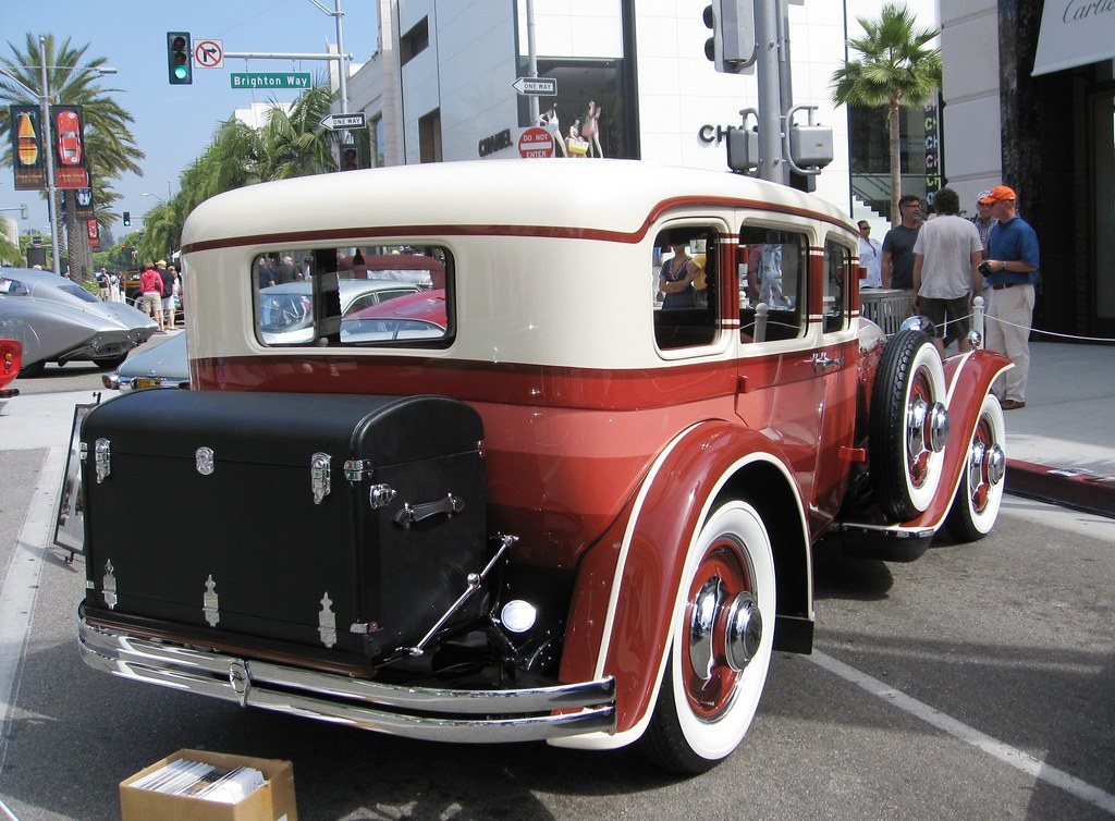 Ruxton 1930 Beverly Hills Rodeo Drive Concours The