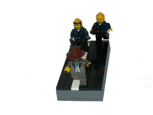 The Mask Lego Viginett... Jim Carrey
