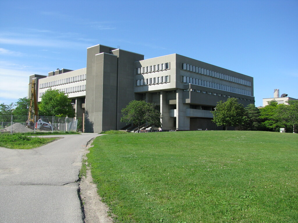 University Of Waterloo: University Of Waterloo's MC, Less The CS Sculpture