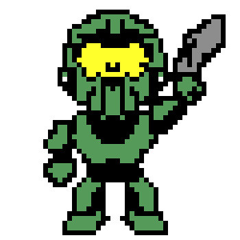 8bit master chief master chief at his best and