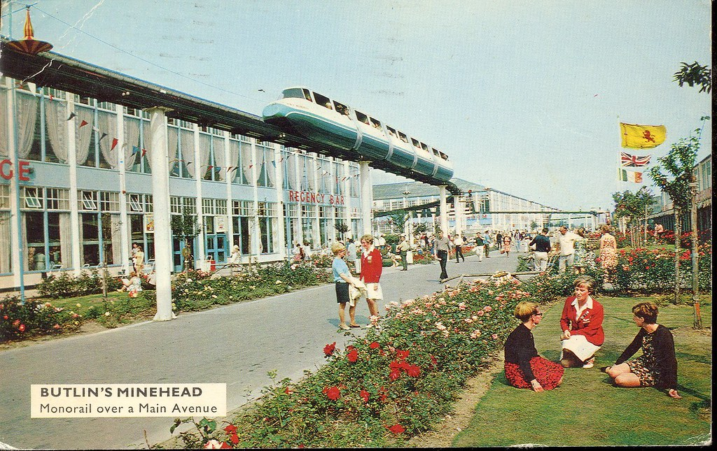 Butlins Minehead Monorail The Monorail First Opened At