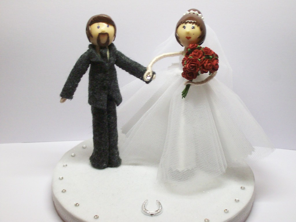 doll wedding cake clothespin doll wedding cake toppers handmade by me with 13693