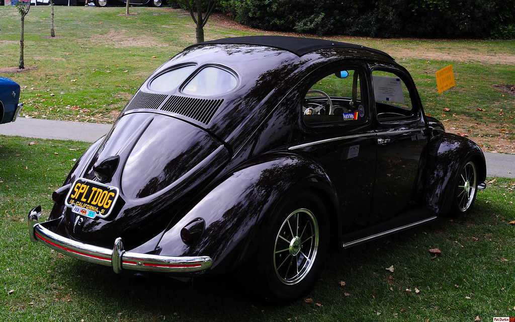 1951 Volkswagen split window Beetle - Bordeaux Red - rvr | Flickr