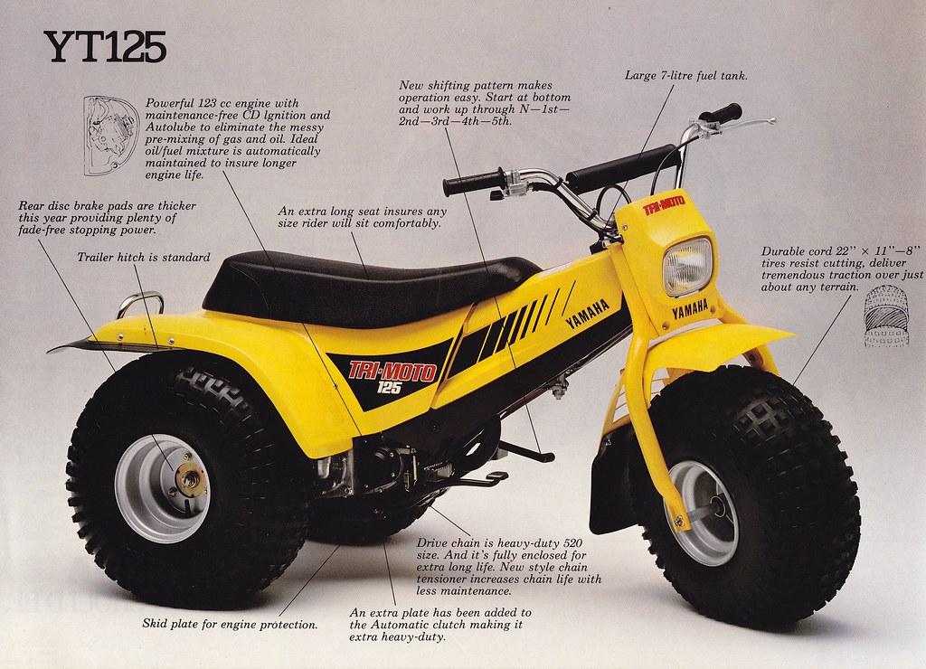 Yamaha Tri Moto   Wheeler