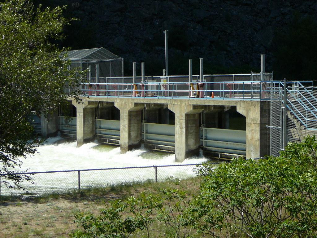 Okanagan Lake Dam Okanagan River Dam