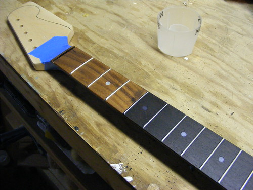Rosewood Fretboard Stain Offsetguitars Com