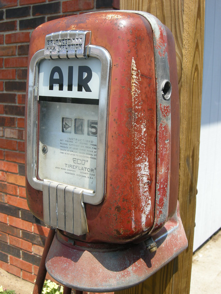 Old Gas Station Air Pump They Sure Don T Make Em Like