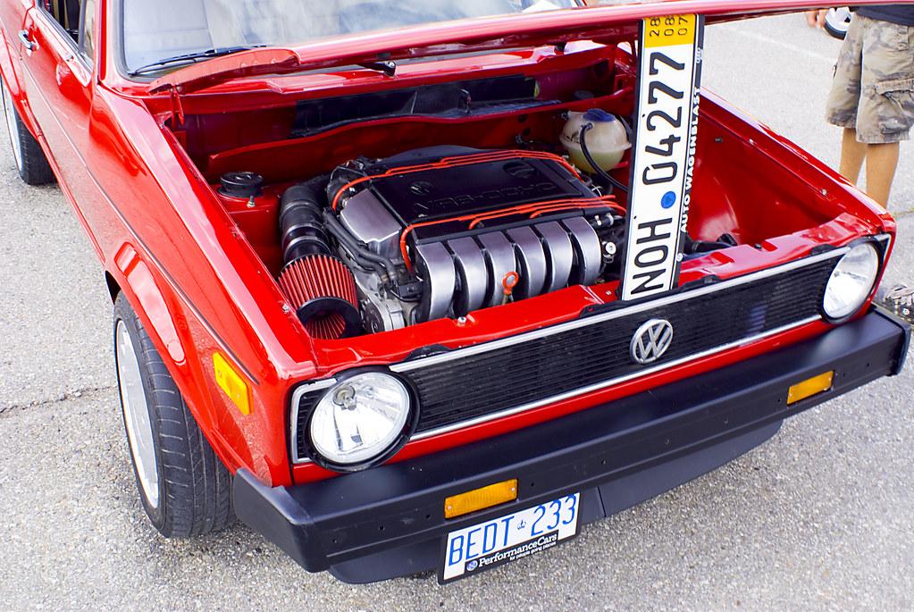 Vagkraft 2008 240 Vw Rabbit Gti Mk1 Vr6 Motor Jason