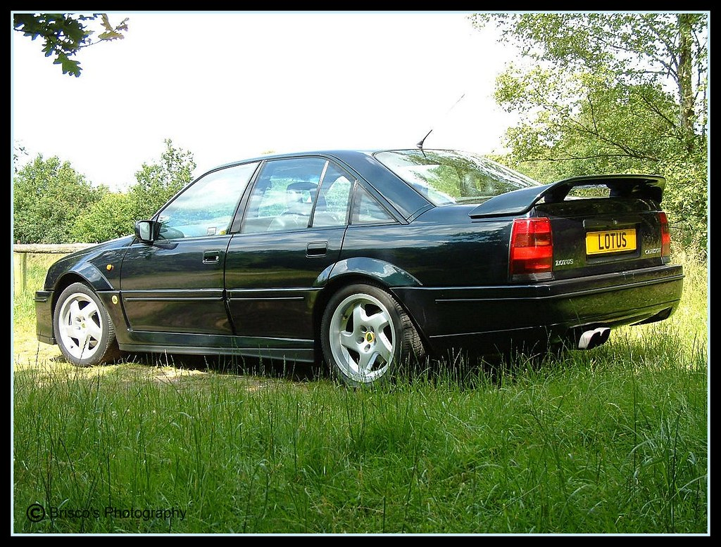 my old lotus carlton rear side view the lotus. Black Bedroom Furniture Sets. Home Design Ideas