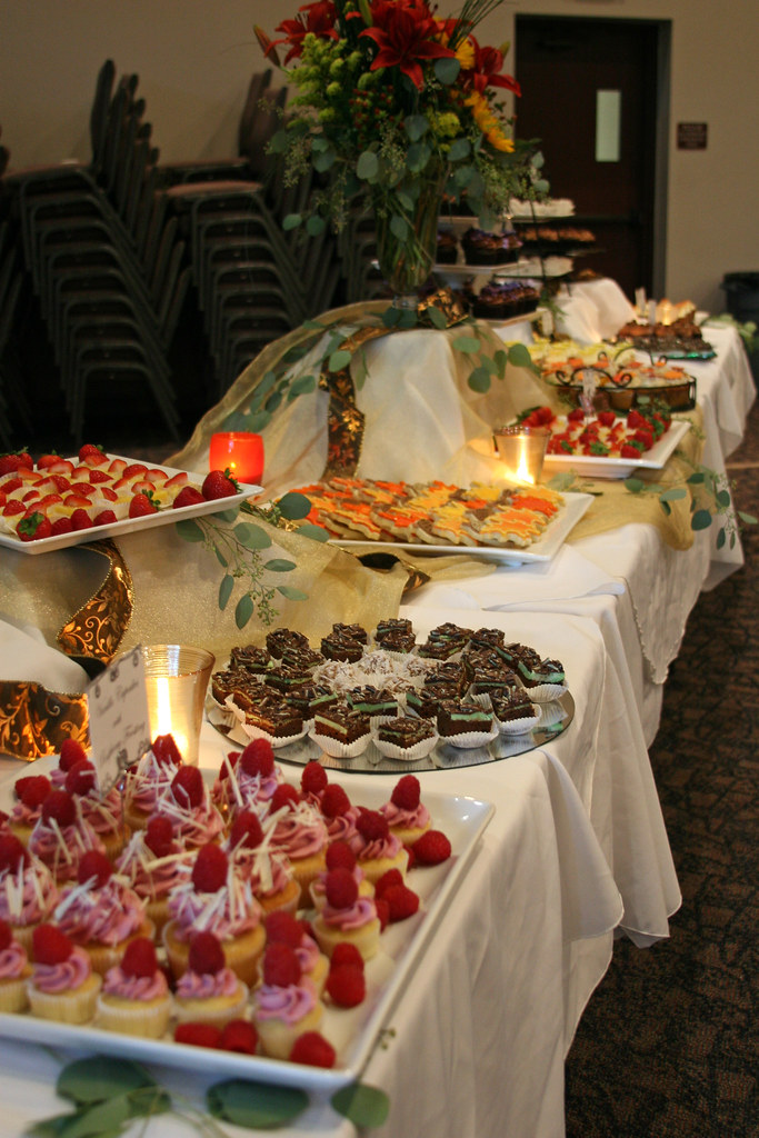 Dessert Buffet Dessert Buffet I Did To Serve 175 People