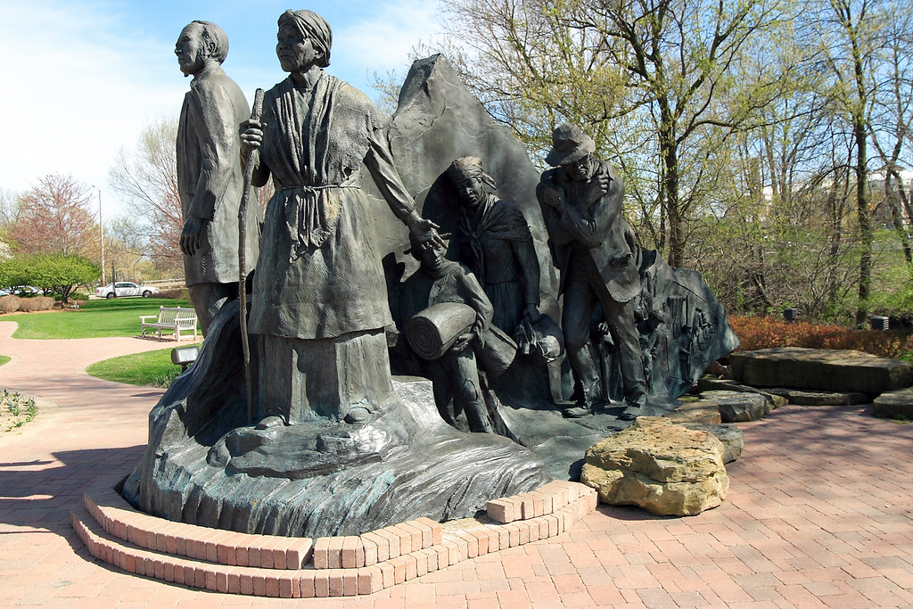 Underground Railroad Statue Johnson S Island