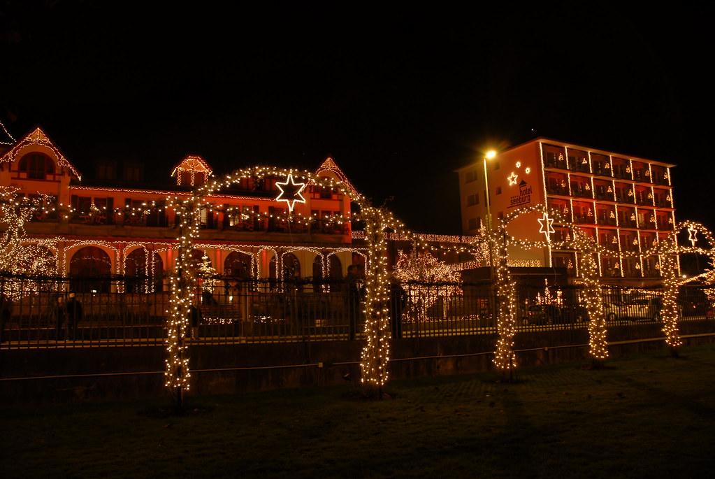 16 november er ffnung weihnachts beleuchtung hotel seeburg. Black Bedroom Furniture Sets. Home Design Ideas