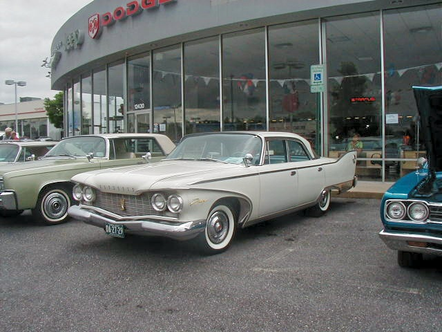 1960 Plymouth Fury Chrysler Product Owners Club Show At