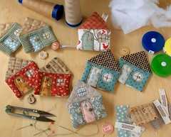 WIP - House Tape Measures | by PatchworkPottery