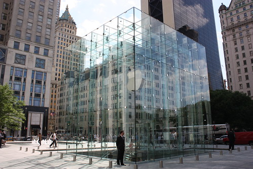 Glass Apple Store Cube | by Marcus  Q