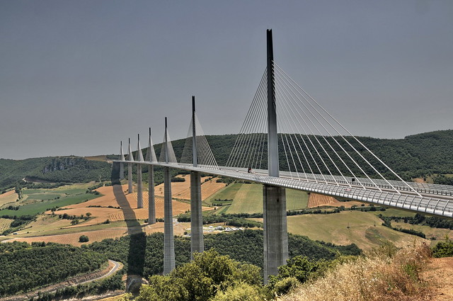 The Millau Viaduct The Millau Viaduct is a large cablesta Flickr