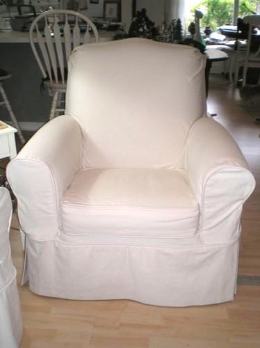 recliner loose slipcover fabricatstudio flickr. Black Bedroom Furniture Sets. Home Design Ideas